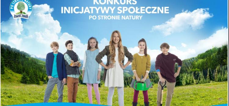 """Ruszył nabór wniosków do konkursu grantowego na Inicjatywy Społeczne """"Po Stronie Natury"""""""